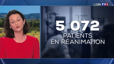 Covid-19 : les chiffres de l'épidémie avant la prise de parole d'Emmanuel Macron