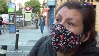 Covid-19 : des habitants de Madrid ne peuvent plus se déplacer d'un quartier à un autre