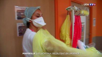 Covid-19 : les hôpitaux recrutent en urgence à Marseille