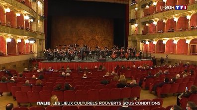 Covid-19 : les lieux culturels rouverts sous conditions en Italie