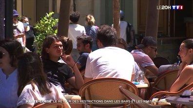 Covid-19 : nouvelles restrictions en Haute-Corse face à une flambée des cas