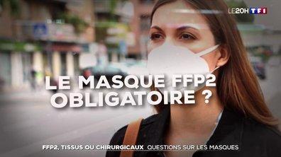 Covid-19 : questions sur les masques FFP2, en tissus et chirurgicaux