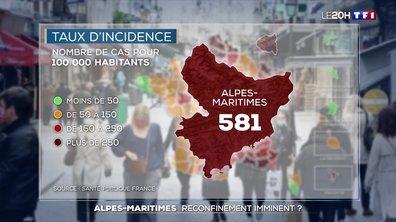 Covid-19 : vers un reconfinement dans les Alpes-Maritimes ?