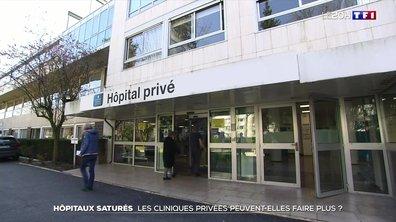 Covid : les cliniques privées sont-elles également en tension ?