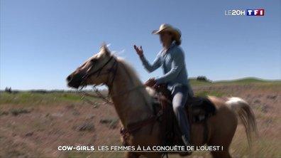 Cow-girls : les femmes à la conquête de l'Ouest !
