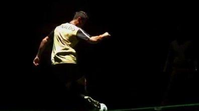 Insolite : Cristiano Ronaldo fait étalage de sa technique (vidéo)