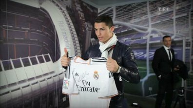L'addition Téléfoot : Gagnez le maillot de Cristiano RONALDO (Real Madrid) !