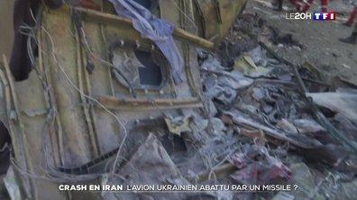 Crash d'un Boeing en Iran : l'avion ukrainien abattu par un missile ?