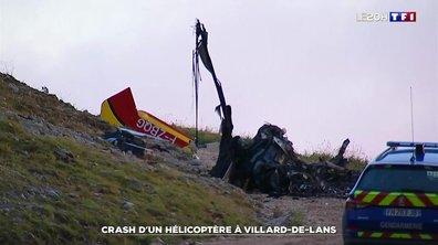 Crash d'un hélicoptère à Villard-de-Lans