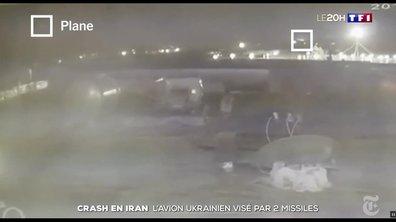 Crash du Boeing 737 en Iran : l'avion aurait été touché par deux missiles selon de nouvelles images