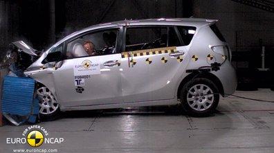 Cinq étoiles pour la Toyota Verso au Crash-test EuroNCAP