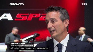 """Mondial de l'Auto : """"Créer une collection de rêve chez Ferrari"""""""