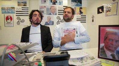 Crise à Itélé : Eric & Quentin brisent la grêve