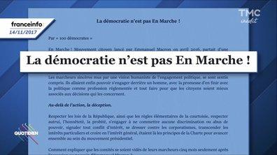 Crise « En Marche » : 100 militants claquent la porte