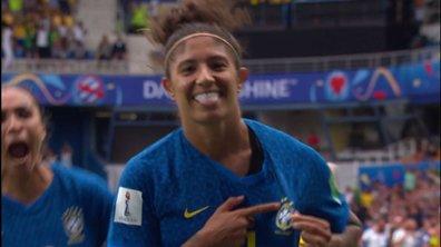 Australie - Brésil (0 - 2) : Voir le but de Cristiane en vidéo
