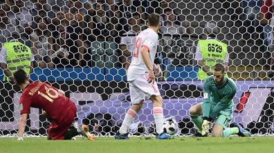 Portugal-Espagne (2-1) : la boulette de De Gea qui profite à Cristiano Ronaldo
