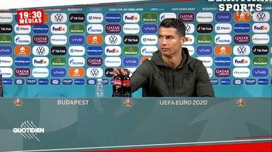 Cristiano Ronaldo fait perdre 4 milliards de dollars à Coca Cola