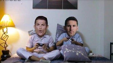 Vidéo parodie : Cristiano Ronaldo et Lionel Messi sont les meilleus amis !
