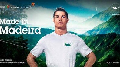 Cristiano Ronaldo prend la pose pour Madère