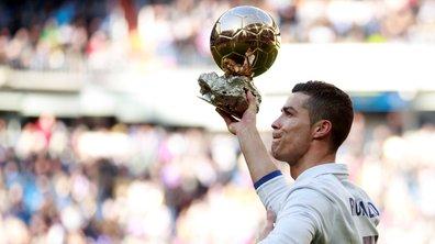Le Real Madrid fête le 5e Ballon d'Or de Ronaldo avec une manita