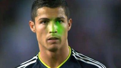 Ronaldo encore visé par un laser !