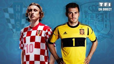 Croatie - Espagne en streaming vidéo !