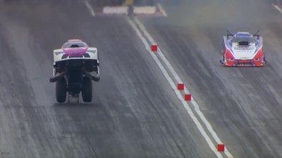 Vidéo Insolite : son dragster décolle à plus de 400 km/h… et gagne la course