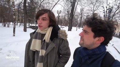 Cyril, étudiant  franco-russe arrêté pour son soutien à Alexeï Navalny