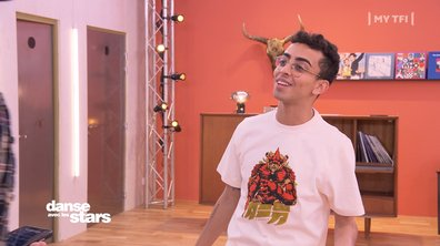 """DALS 2021 - Répétitions - Bilal Hassani sur un toboggan : """"Mais de quoi tu parles frère ?"""""""