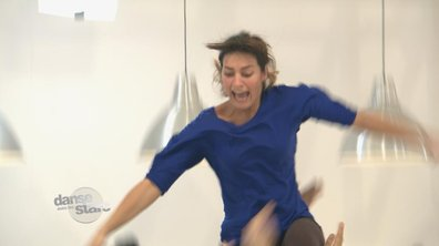 "#DALS répétitions : Laetitia Milot ""Tu as failli me casser le cou !"
