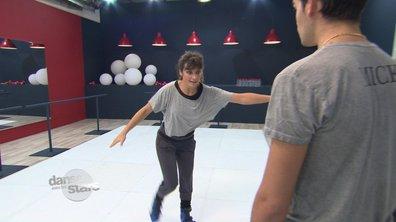 #DALS Répétitions : Laetitia Milot glisse vers la finale
