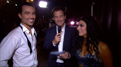 #DALS Interview : réaction à chaud de Damien Sargue et Candice Pascal en coulisses !