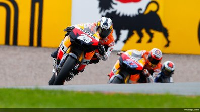 MotoGP Assen : Pedrosa chipe la première place, Lorenzo out