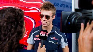 F1 - Toro Rosso : Daniil Kvyat reconduit pour la saison prochaine
