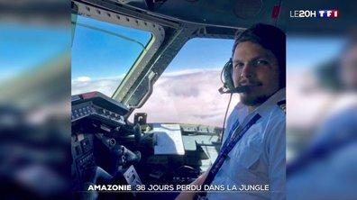 Dans la forêt amazonienne, un pilote a marché 36 jours après le crash de son avion