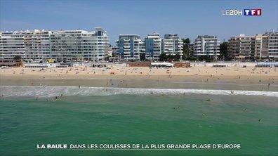 Dans les coulisses de la plus grande plage d'Europe