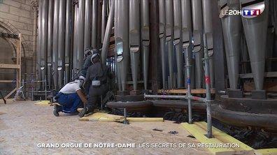 Dans les coulisses de la rénovation du grand orgue de Notre-Dame de Paris