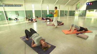 Dans les petits villages aussi, le yoga se développe
