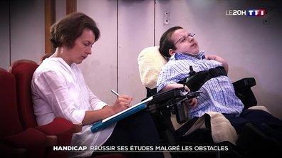 Dans quelles conditions suit-on des études lorsqu'on est handicapé ? Le témoignage de Thomas