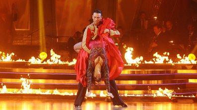 Danse avec les stars : Shy'm a failli s'enflammer ! (VIDEO)