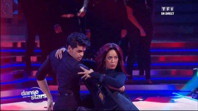 Amel Bent et Christophe, un tango en 2ème danse sur « Like a Prayer » (Madonna)