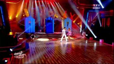 Baptiste Giabiconi et Fauve Hautot dansent un charleston sur Benny Hill