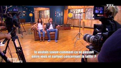 Camille Lacourt et Hajiba Fahmy : retour sur leurs premières répétitions