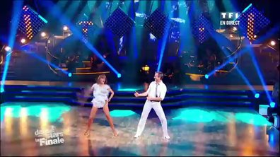 David Ginola et Silvia Notargiacomo dansent un jive sur Pump It (The Black Eyed Peas)