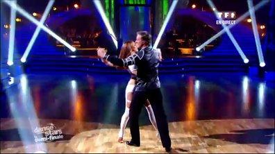 David Ginola et Silvia Notargiacomo dansent un tango sur Poker Face (Lady Gaga)