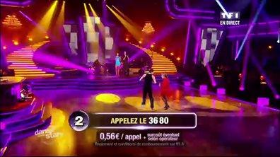 David Ginola/Silvia Notargiacomo et Marthe Mercadier/Grégoire Lyonnet dansent une samba sur I like to move it