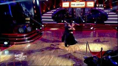 Francis Lalanne et Silvia Notargiacomo dansent un quickstep sur Sing, Sing, Sing (Gene Krupa)