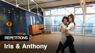 Répétitions - Iris Mittenaere et Anthony Colette, ça bosse dur !