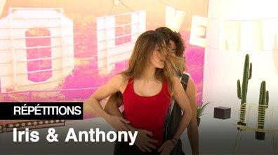Répétitions - Iris Mittenaere et Anthony Colette, une énergie débordante