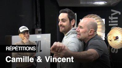"""Répétitions - """"Pour l'Opéra de Canet-en-Roussillon, c'est une standing ovation"""" Camille Combal et Vincent Moscato"""